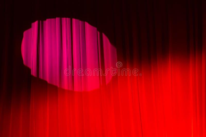 Cortina del teatro imagenes de archivo