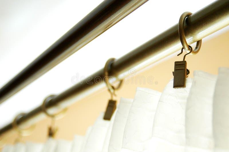 Cortina Rod imágenes de archivo libres de regalías