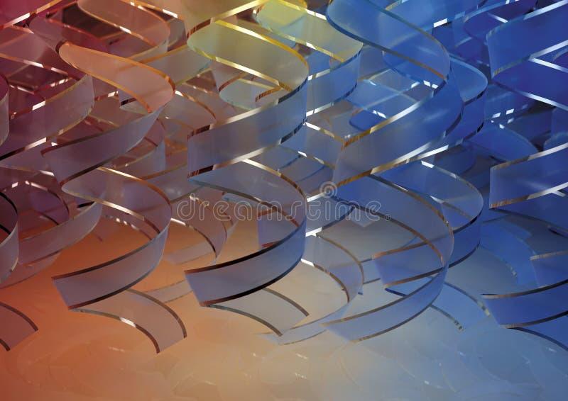 Download Cortina vertical da fita ilustração stock. Ilustração de efeito - 16857805