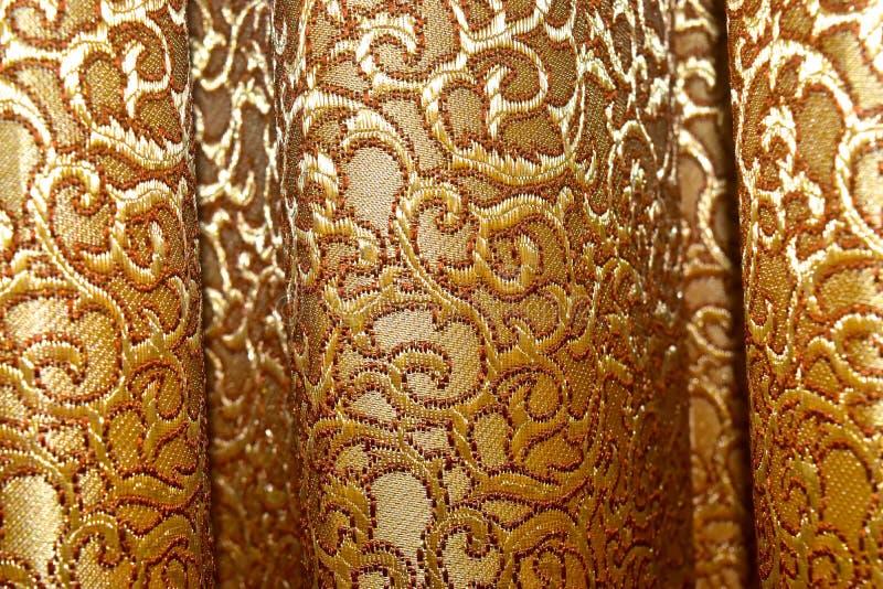 A cortina veste a fotografia do fundo da opinião do close up foto de stock royalty free