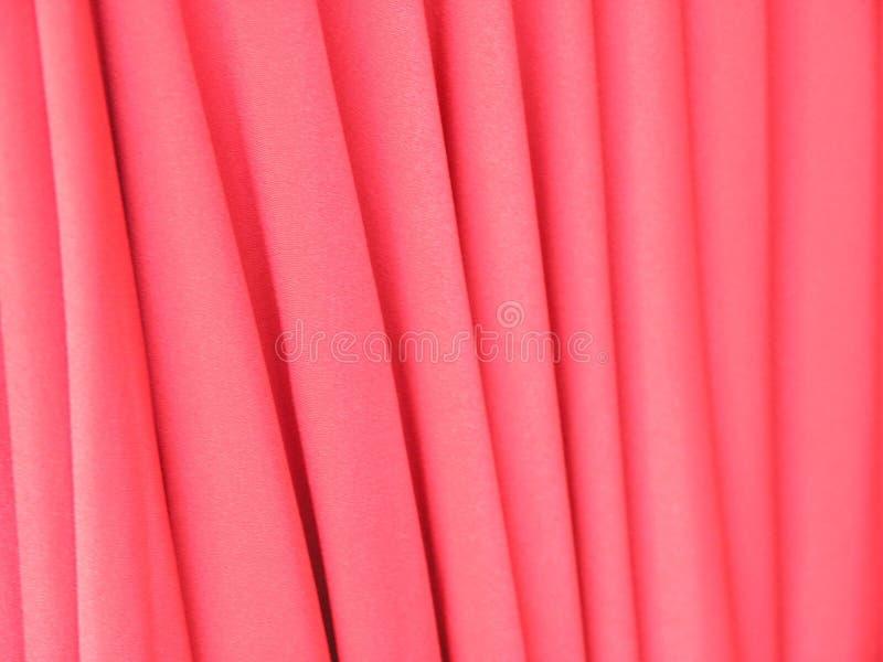 Cortinas cor-de-rosa ilustração stock