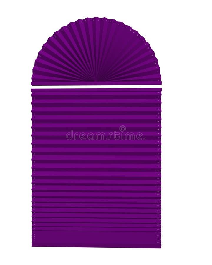 Download Cortinas de indicador ilustração stock. Ilustração de dentro - 16850749