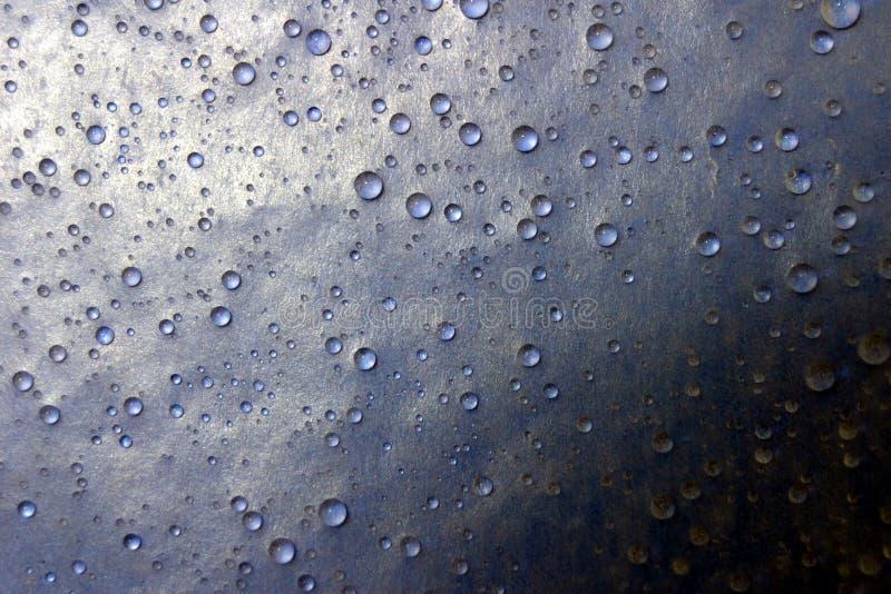 Cortinas de la gota del agua foto de archivo libre de regalías