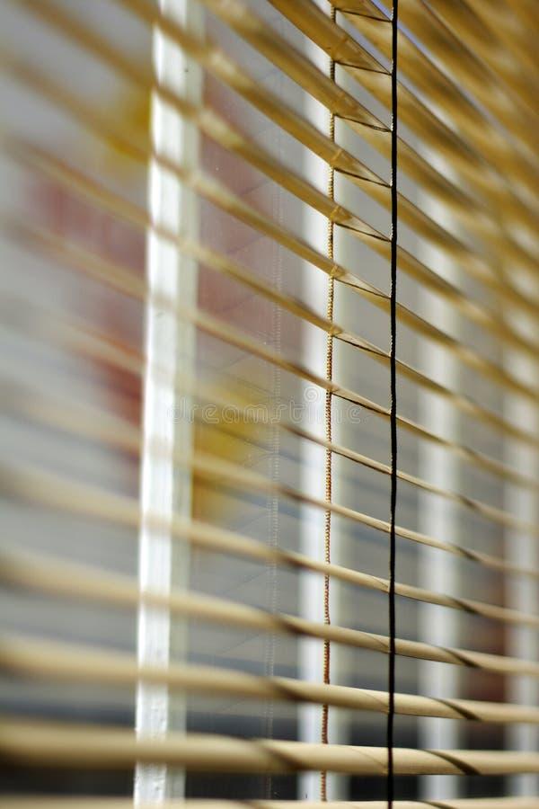 Cortinas de Ventetian fotografia de stock royalty free