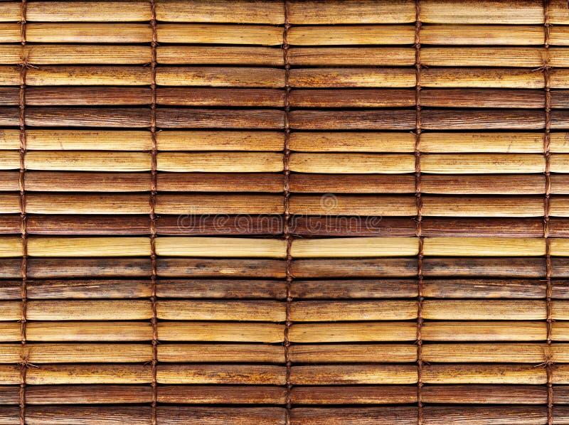 Cortinas do bambu foto de stock royalty free