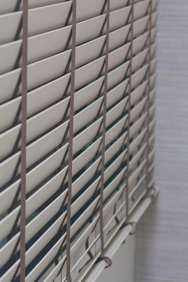 Cortinas do pl stico na sala foto de stock imagem de - Cortinas de plastico ...