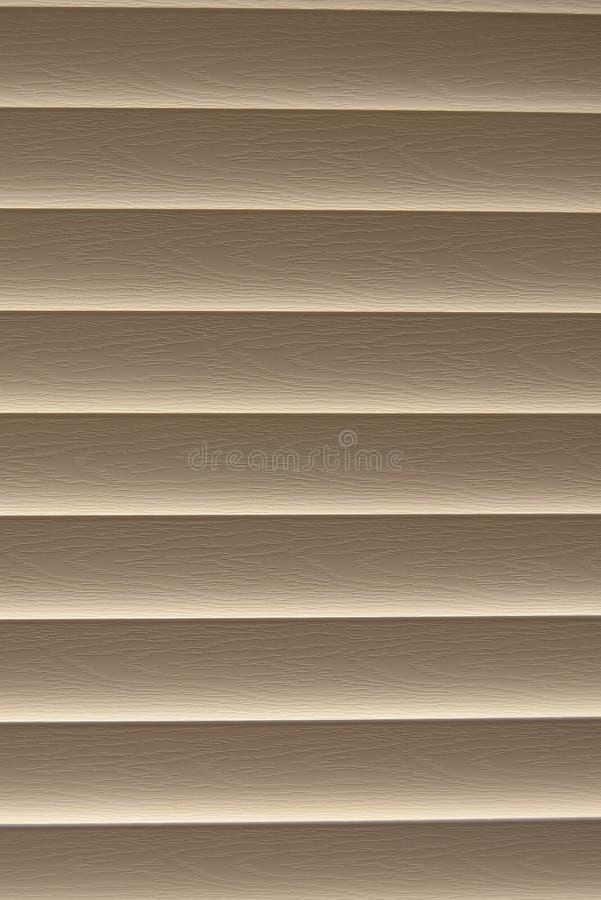 Cortinas fechadas da madeira fotos de stock