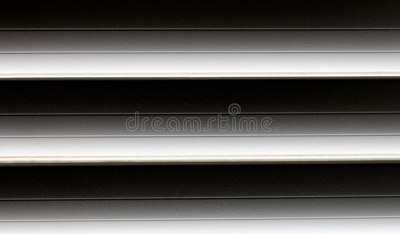 Cortinas preto e branco plásticas para fundos imagem de stock royalty free
