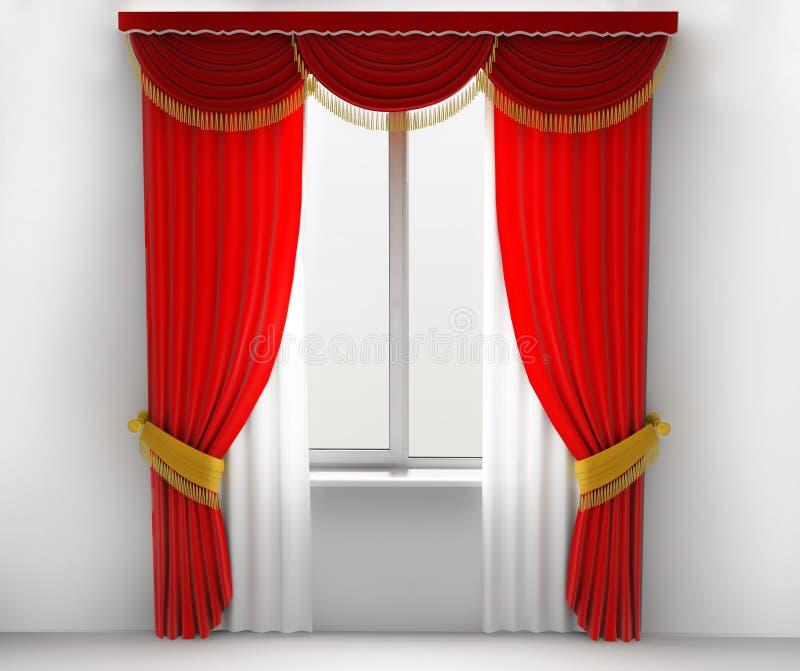 download cortinas rojas stock de ilustracin ilustracin de elegancia 7898898 - Cortinas Rojas
