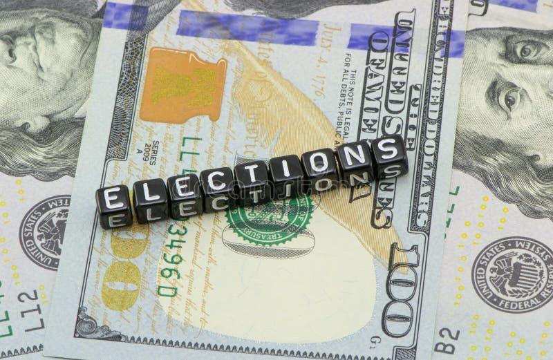 Cortocircuito de las elecciones de los E.E.U.U. fotografía de archivo libre de regalías
