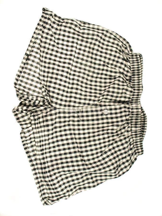 Cortocircuitos de la ropa interior imagen de archivo