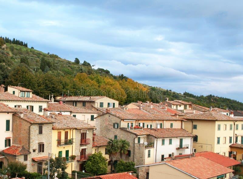 cortona Италия Тоскана стоковые изображения