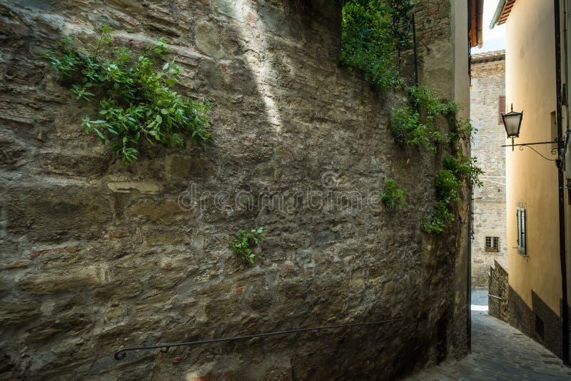 Cortona, Arezzo Tuscany, Włochy, - fotografia stock