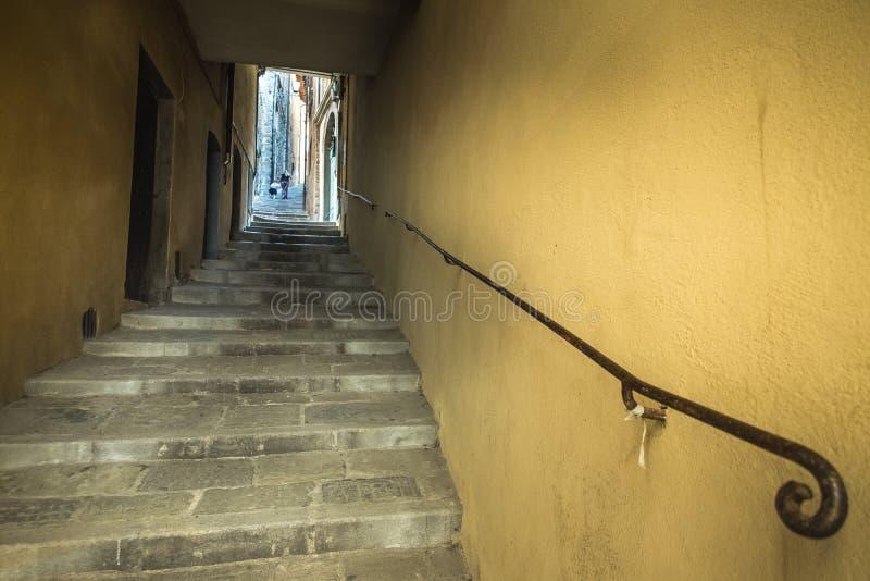 Cortona, Arezzo Tuscany, Włochy, - zdjęcia stock