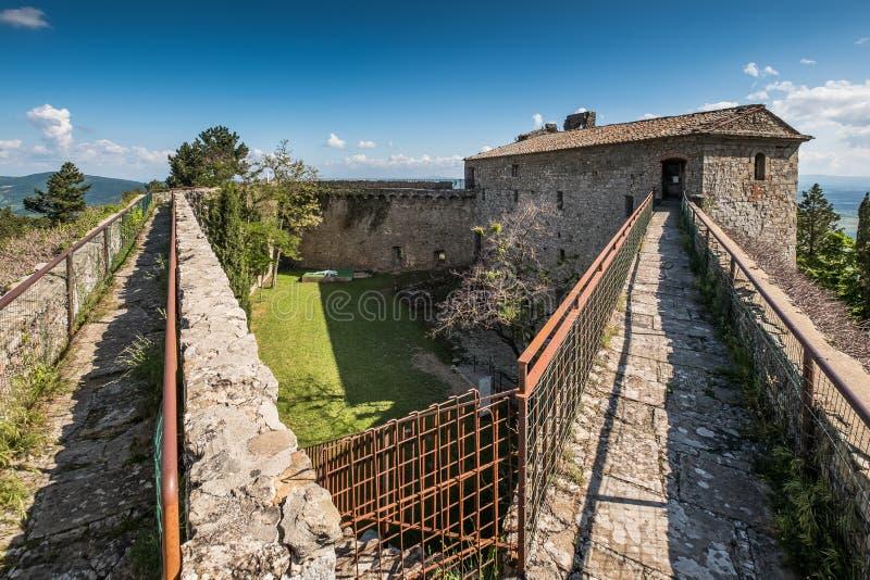 Cortona, Arezzo Tuscany, Włochy, - obrazy royalty free