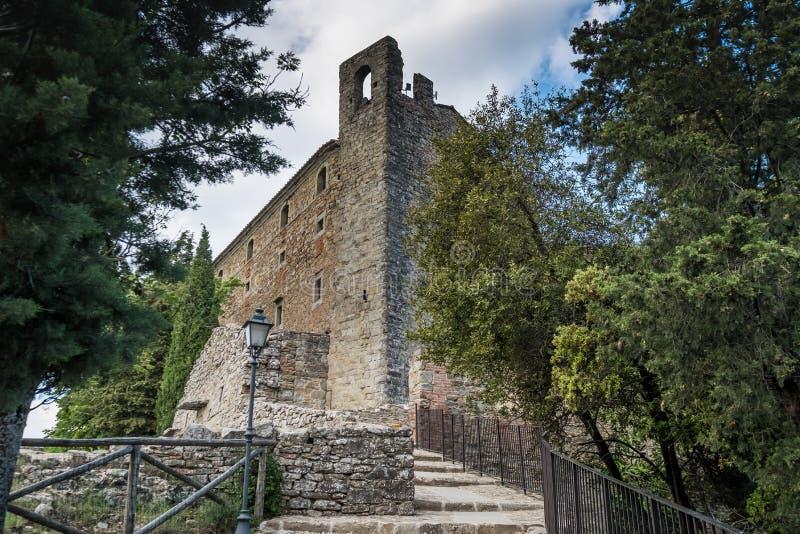 Cortona, Arezzo Tuscany, Włochy, - fotografia royalty free