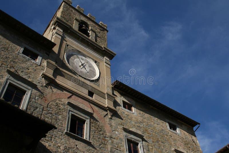 Cortona, Italy, City Hall royalty free stock images