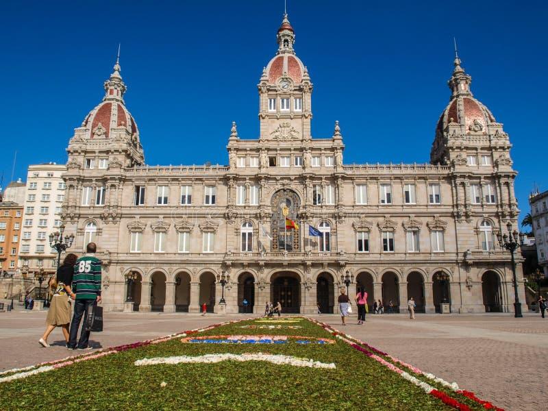 Coruña στοκ φωτογραφίες με δικαίωμα ελεύθερης χρήσης