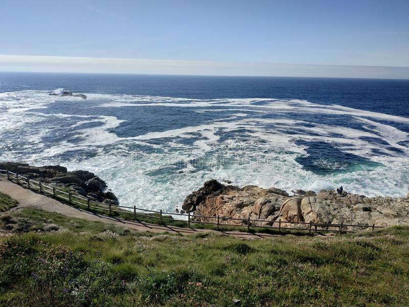 A Coruña. Corua, sea, spain, adventure, unique royalty free stock photo
