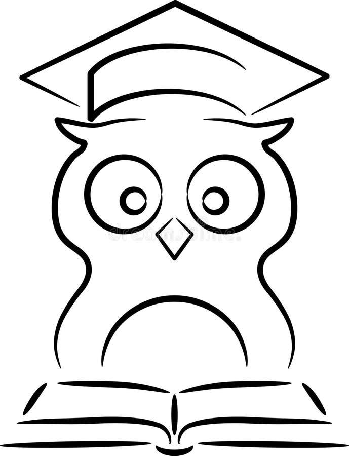 Coruja ilustração do vetor