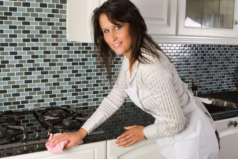 Corvées de cuisine image libre de droits