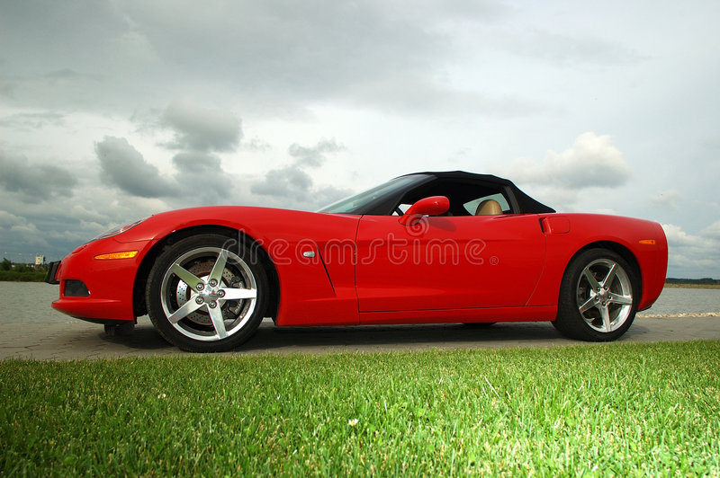 Corvette_01 immagini stock libere da diritti