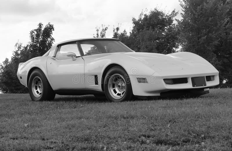 Corvette royalty free stock photos