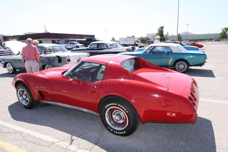 corvette coupestingray fotografering för bildbyråer
