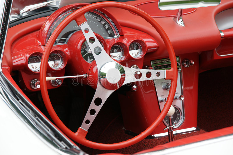 Download Corvette Dashboard stock image. Image of hobby, automobile - 5668483