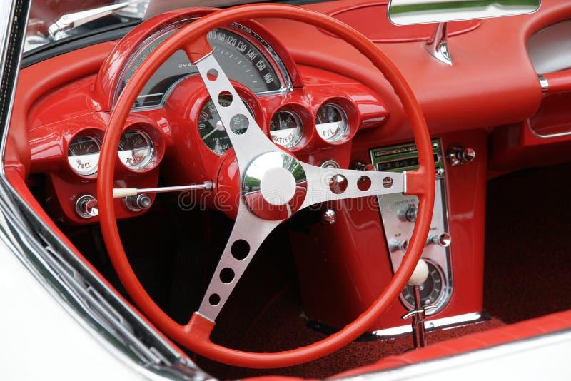 Corvette Dashboard stock photos