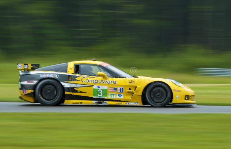 Corvette Race Car Editorial Stock Photo