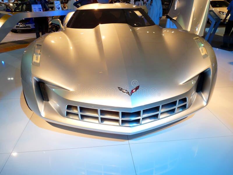 Corvette Stingray stock photography