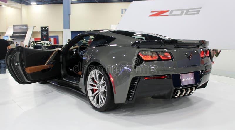 Corvette Z06 2015 stock photo