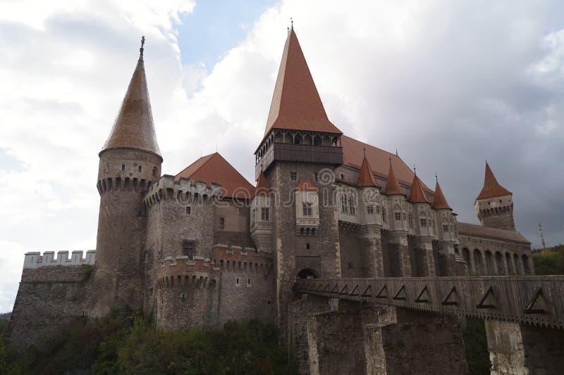 Corvin城堡或Hunyadi城堡Castelul Corvinilor sau Castelul Huniazilor,胡内多阿拉,罗马尼亚 免版税库存照片