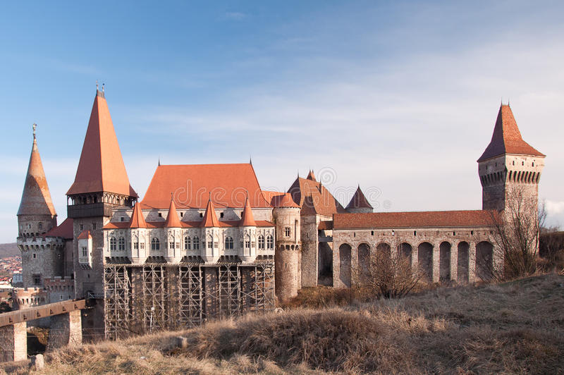 Download The Corvin Castle Of Hunedoara, Romania Stock Image - Image of hour, residence: 53766593