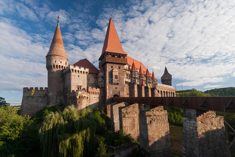Corvin kasztel, Rumunia fotografia royalty free