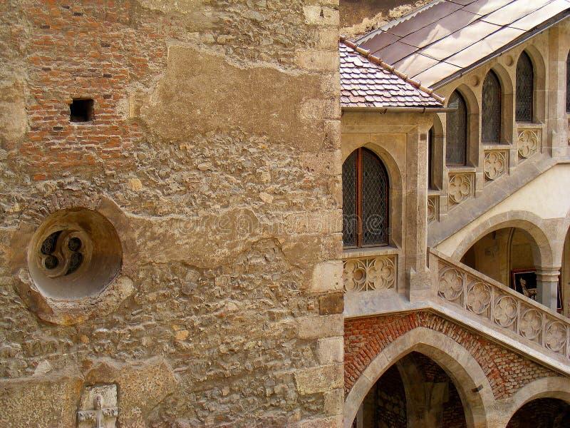 Corvin kasztelu hunedoara Transylvania huniazilor historia gothic fotografia royalty free