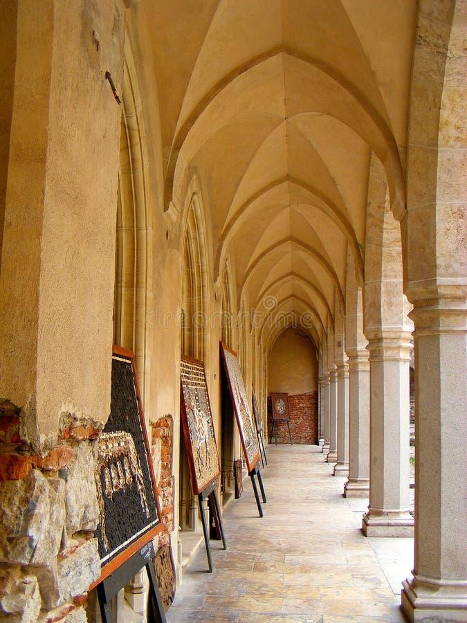 Corvin kasztelu hunedoara Transylvania huniazilor historia gothic zdjęcie stock