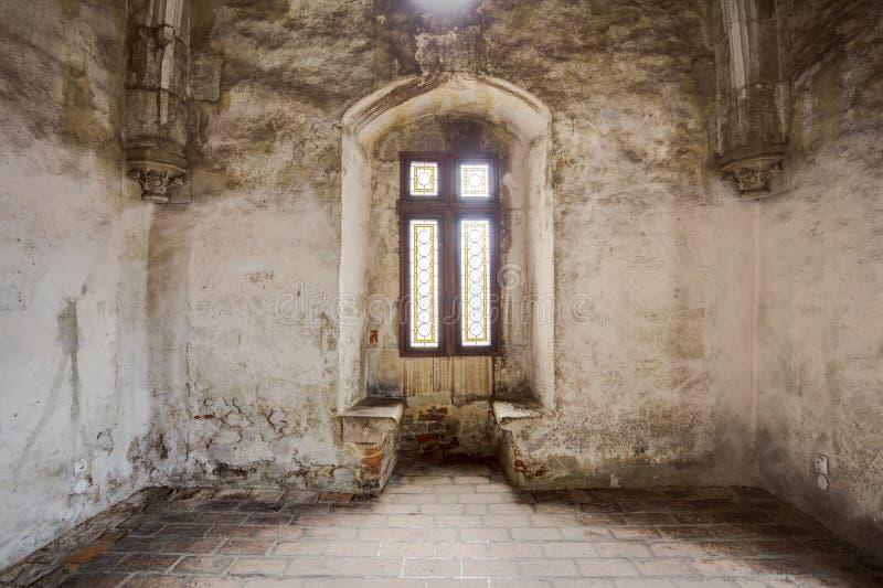 Corvin ` s Hunyadi城堡在胡内多阿拉,罗马尼亚 免版税库存图片