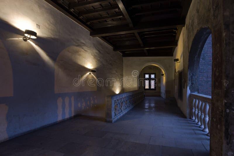 Corvin ` s Hunyadi城堡在胡内多阿拉,罗马尼亚 免版税库存照片