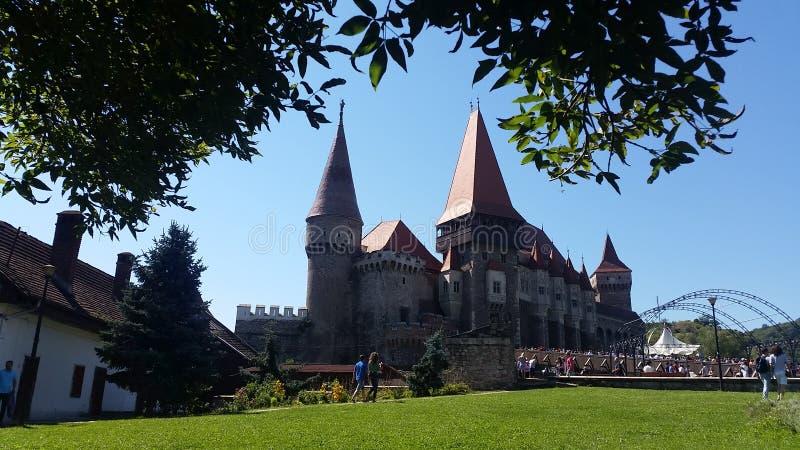 Corvin-Schloss Rumänien stockbild