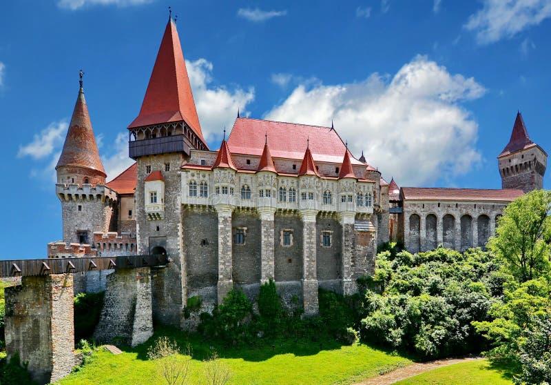 Corvin slott arkivbilder