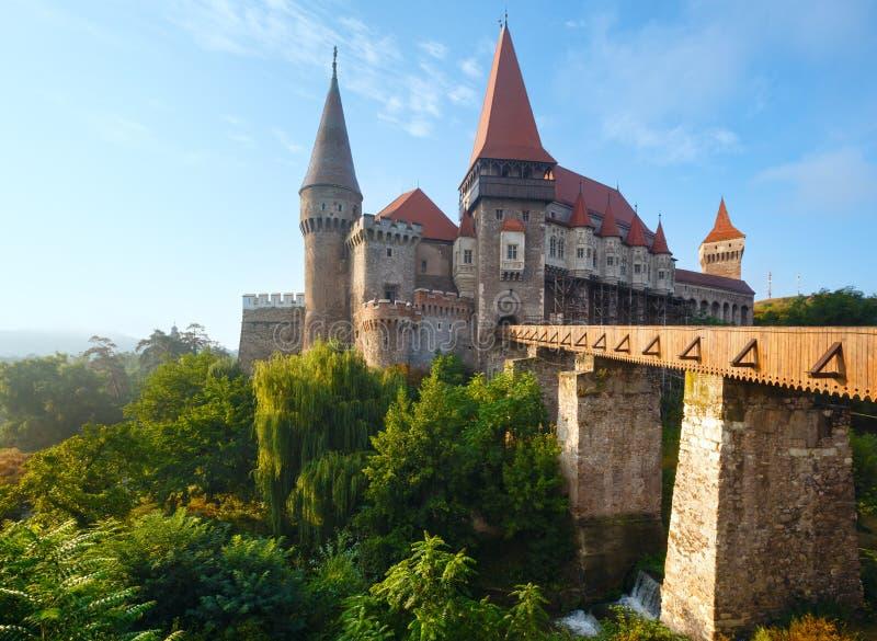 Corvinkasteel (Roemenië) royalty-vrije stock fotografie