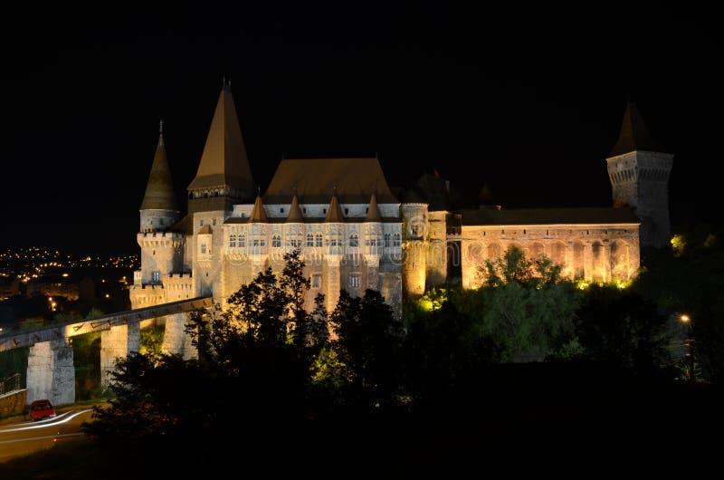 Corvins Schloss - historisches Gebäude stockfoto