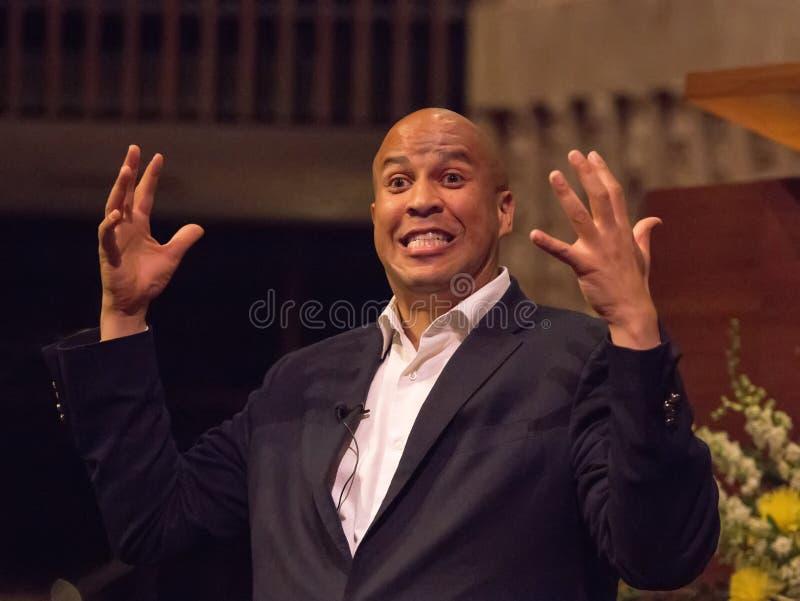 Cory Booker stock photos