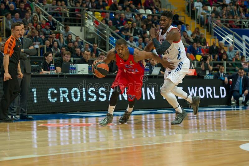 Cory Higgins 22 op het basketbalspel royalty-vrije stock fotografie