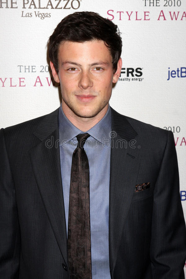 Cory Monteith Billy Wilder arkivfoton