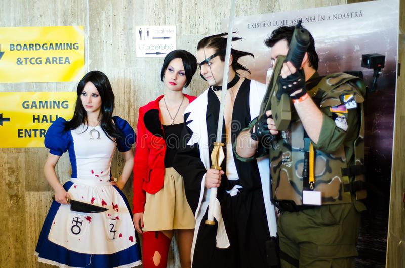 Download Cosplayers At East European Comic Con Editorial Photography - Image: 30147612