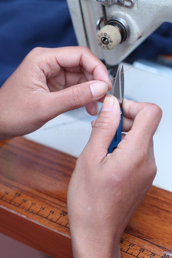 Cosa en la máquina de coser, versión 5 imagen de archivo libre de regalías