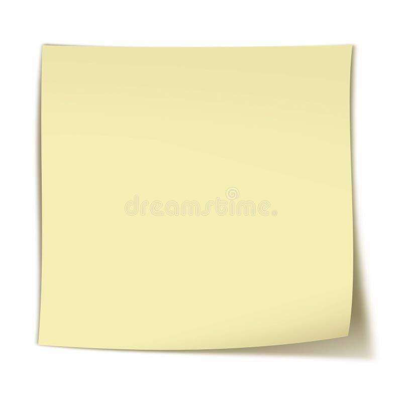 Cosa maloliente amarilla en blanco fotos de archivo
